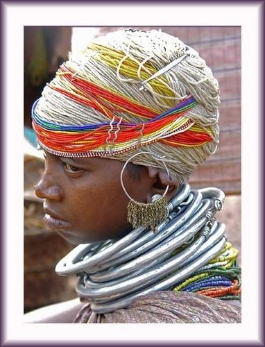Tribal woman by Kali