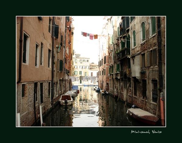 mini-canal, venice by sze4j
