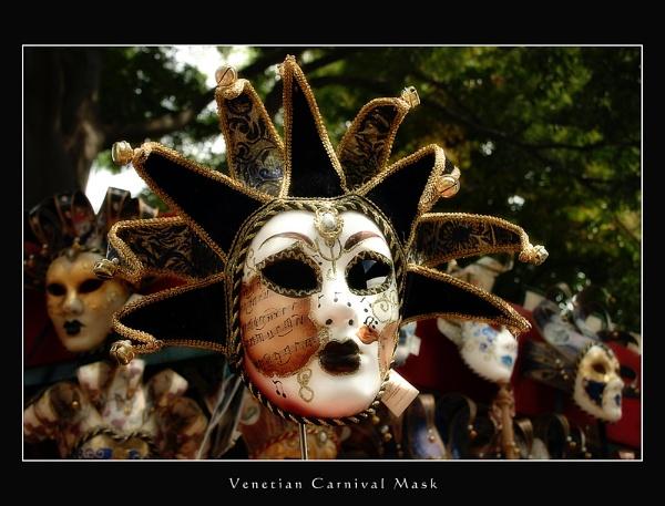 Venetian Mask by sze4j