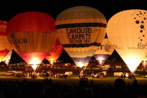 Bristol Balloon Glow by abtayler