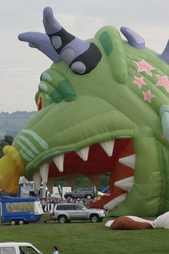 Monster Eats Car by abtayler