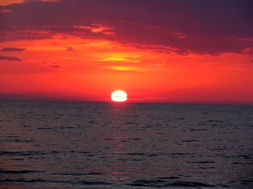 Sauble Sun Set by VinceP