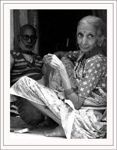 In a Varanasi Doorway by Kali