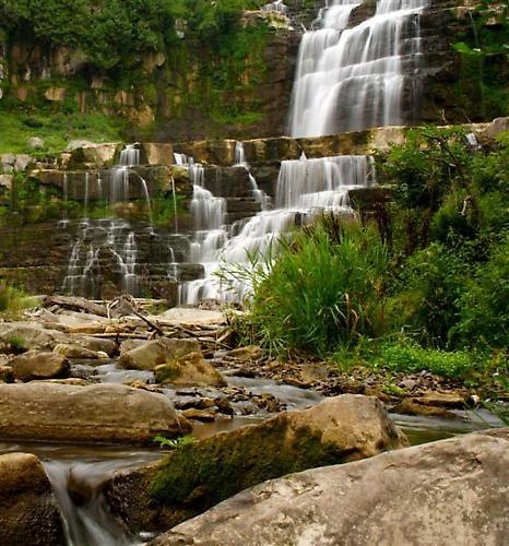 Chittenango Waterfall by shaggydoo