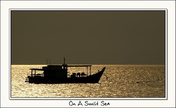 On A Sunlit Sea by Miles Herbert