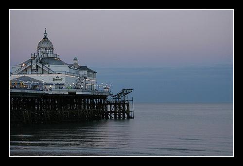 Pier at Dusk by fairlytallpaul