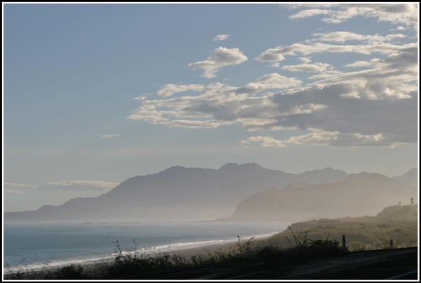 Kaikoura mountains by dwjones