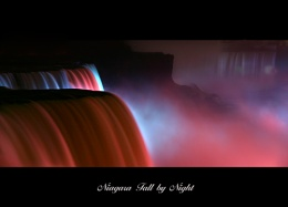 Niagara fall by night