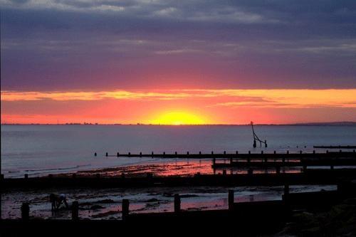 Sunset at Selesy by Coza