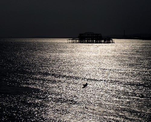 Old Brighton Pier. by fionaw