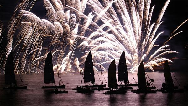 Benodet fireworks 2 by AnneMB