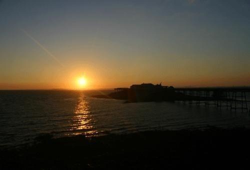 burnbeck peir sunset 15 th aug 2005 by nigelo