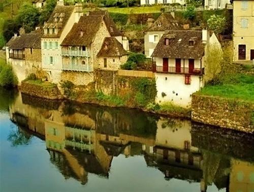 Waterside Village by denthelense