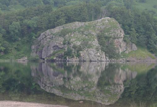 Big Rock, Snowdonia by Blackdog