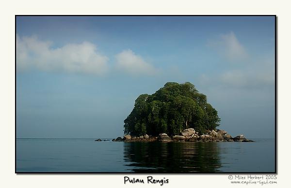 Pulau Rengis by Miles Herbert