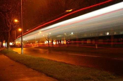 Night Bus by jany
