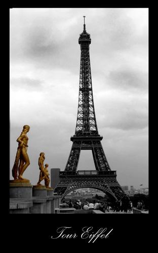 le tour eiffel by pacman
