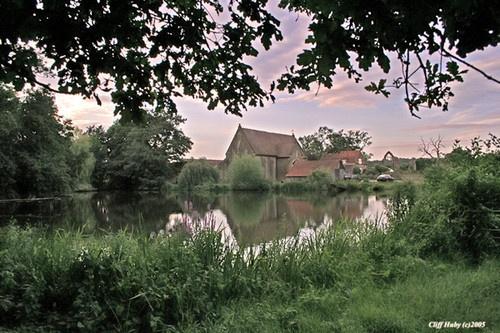 farm house reflection by happysnapper