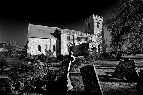Churchyard by perrism