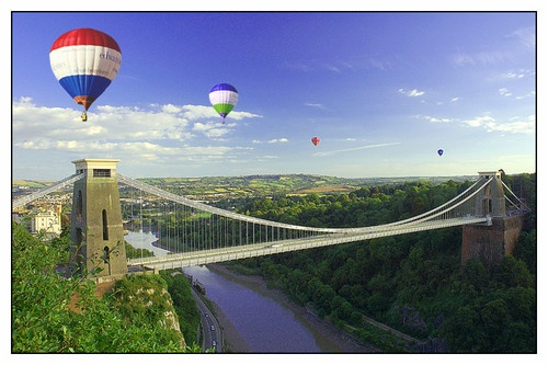 Hot Air in Bristol by mint