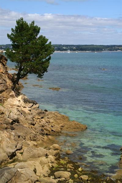 Breton coastline by AnneMB