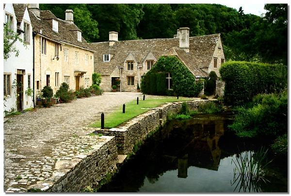 Postcard Village by naturenut