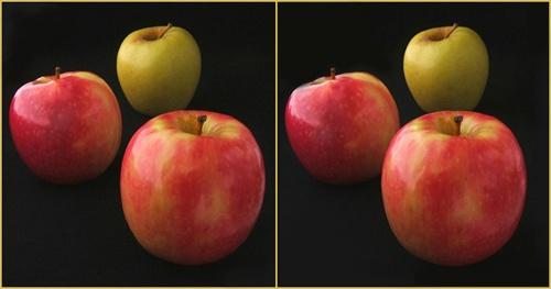 \'Apples\'   in 3D. by LenLamb