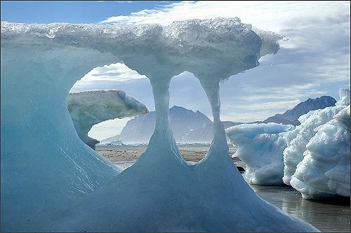 Sermilik Fjord, Greenland by loweskid