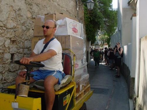 Kleine motorkarren by loek