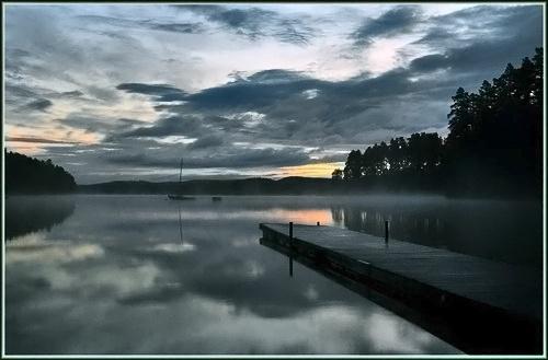 Morning blues by jaktis