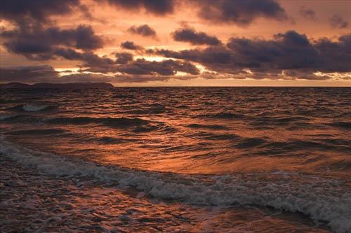 Pensarn Bay by chrisco