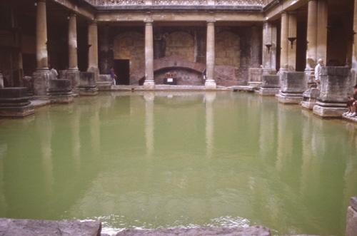 Roman Baths by Jamawa