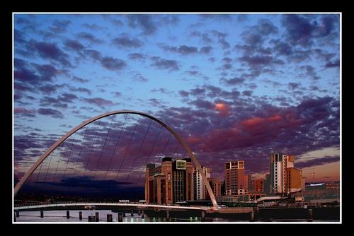 Tyne Sunset 2 by MoWiz