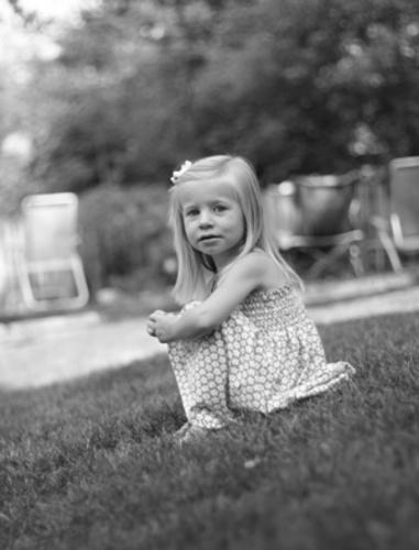 girl sitting by bernwebb