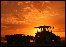 Tractor @ Sunset