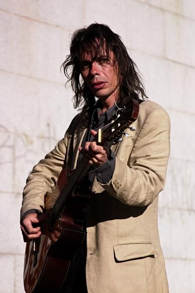 Madrid Street Musician Original by ahollowa