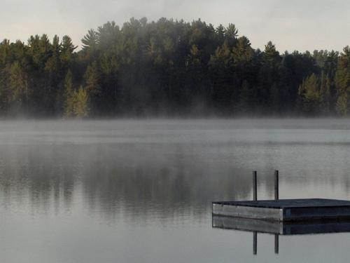 Misty lake (2) by Shelley