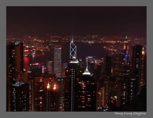 Hong Kong Skyline by Sweetpea