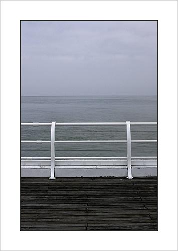 A grey day in Cromer by Ewan
