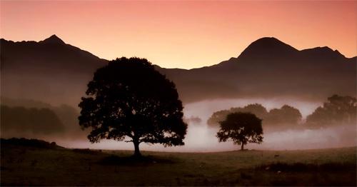 Cnicht & the Moelwyns @ Dawn by mrarth