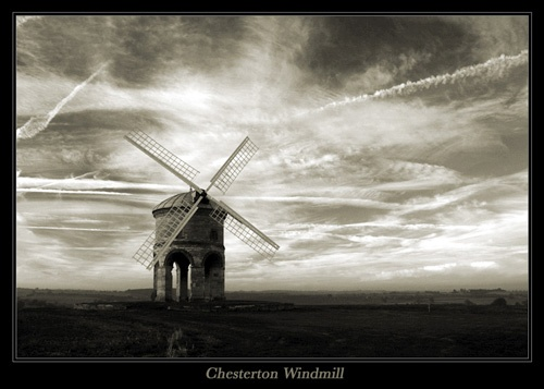 Chesterton Windmill by vaughar
