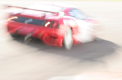 Speeding Car by Sardo