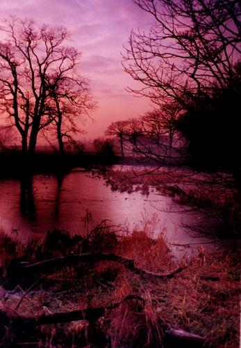 Frozen Lake by DAVID LYDIATE