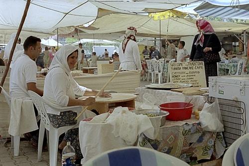 Traditional Pancake Cafe - Fetiye Market by digitalirony