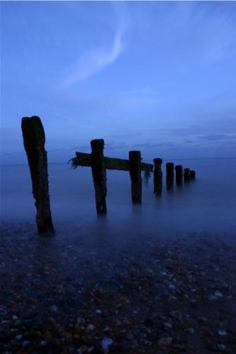 Sussex seascape by Baz Hilder