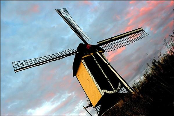 Batenburg Mill by conrad