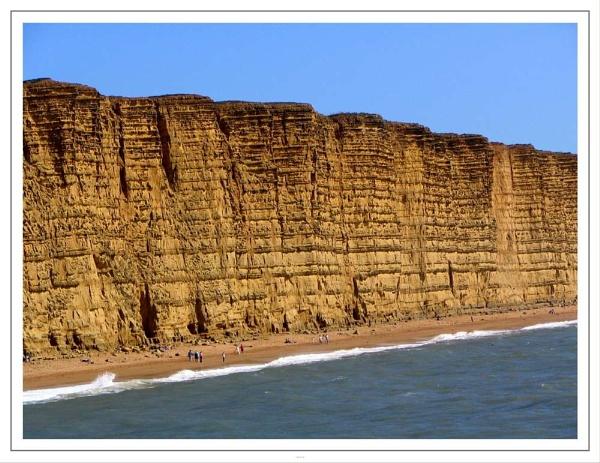 West Bay Cliffs by babs4