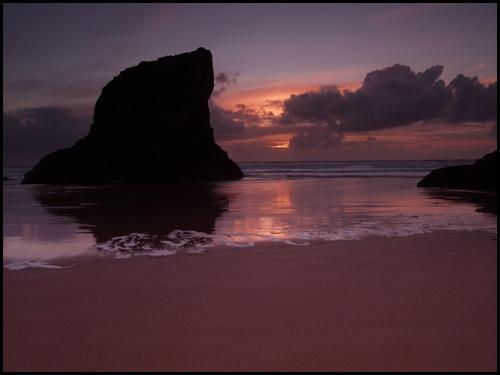 Bedruthan Sunset by peterhorner