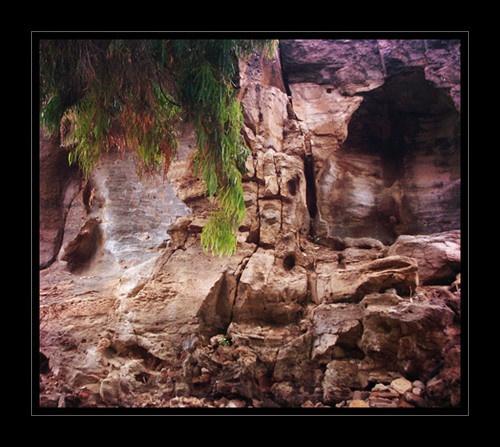 Secret Cave by REKLAW