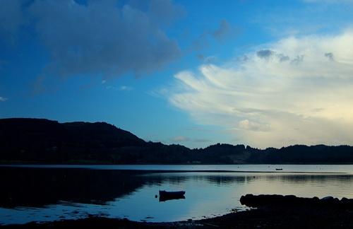 Lochgair evening by goll116